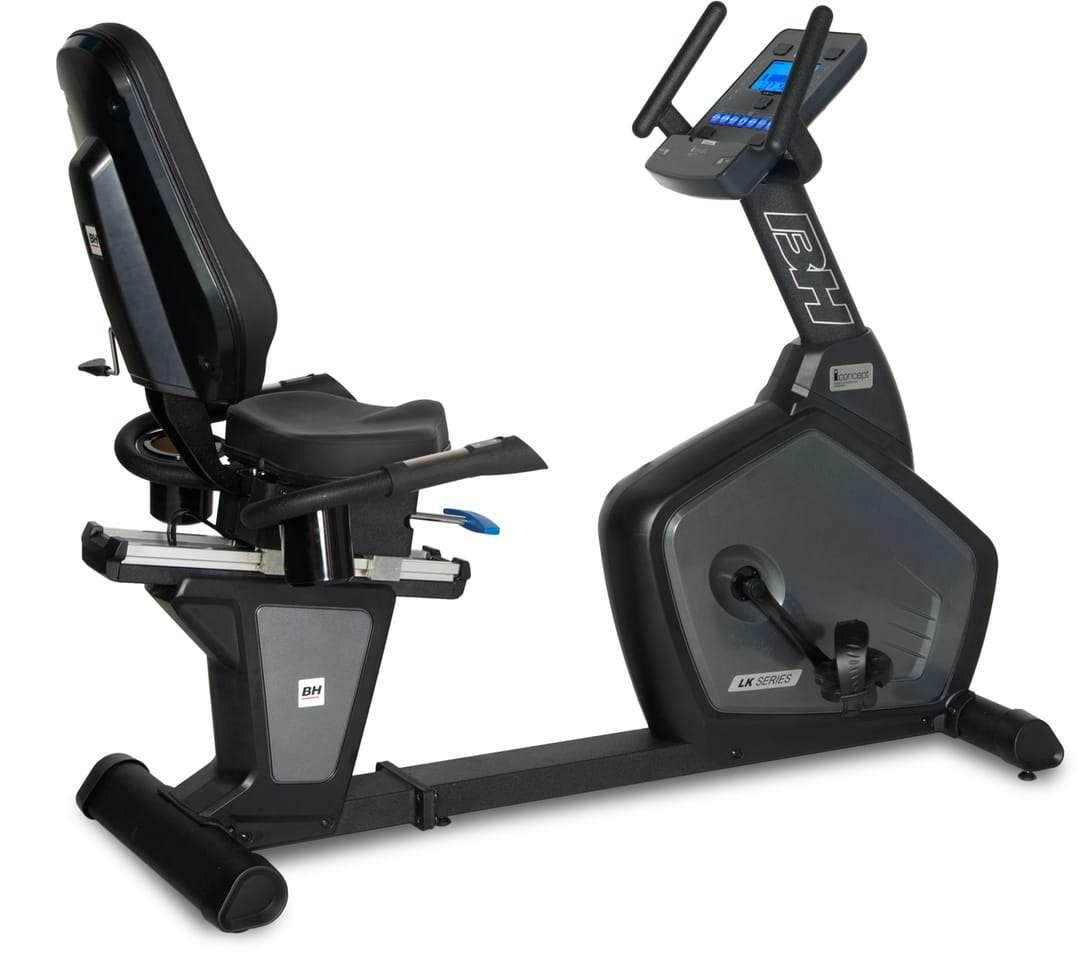 Commercial Exercise Equipment Brands: BH Fitness LK500Ri Recumbent Bike Review