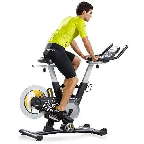 Proform Power Sensitive 7 0 Exercise Bike: ProForm Tour De France 1.0 Indoor Cycle Trainer Review