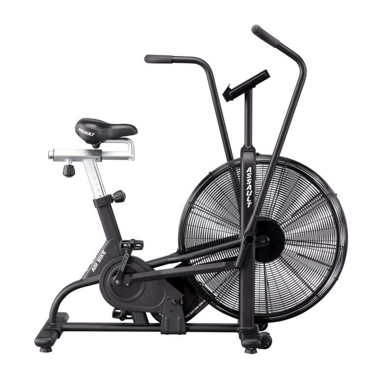 right side view of Assault Fitness Airbike