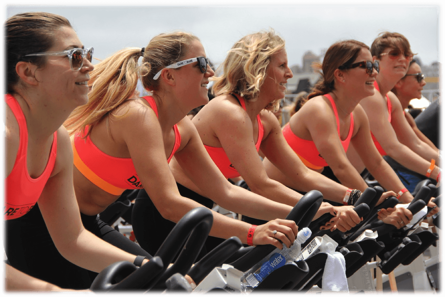 Group Exercise Bike Class